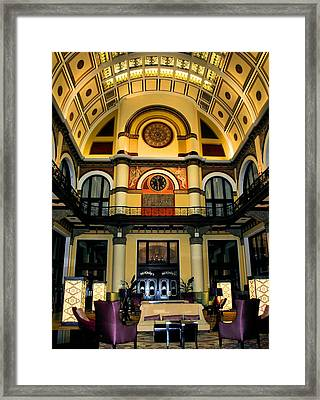 Union Station Lobby Larger Framed Print