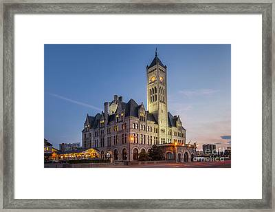 Union Station  Framed Print by Brian Jannsen