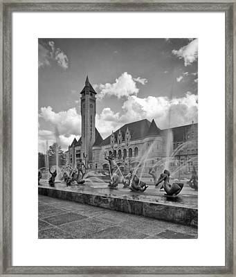 Union Station - St Louis Framed Print