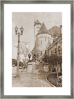 Union Station St Louis Mo Framed Print