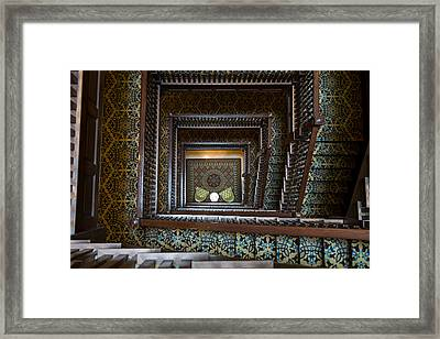 Union Station Stairway Framed Print