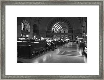 Union Station Washington D.c. - 1963 Framed Print