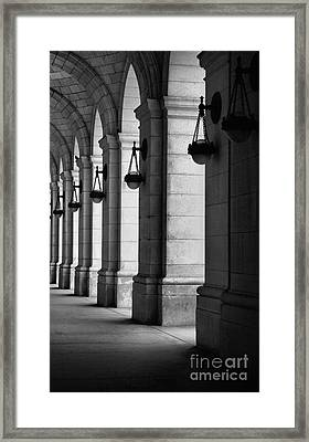 Union Station Washington Dc Framed Print