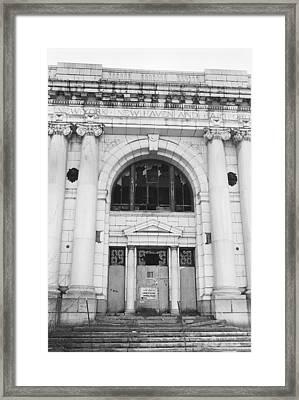 Union Station, Worcester, Mass., 1976 Framed Print