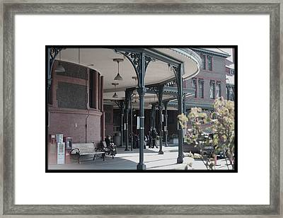 Union Street Station Framed Print by Patricia Babbitt