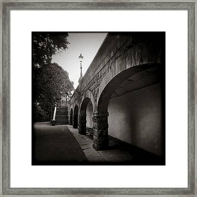 Union Terrace Gardens Framed Print