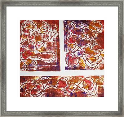 Unique Abstract II Framed Print by Yael VanGruber
