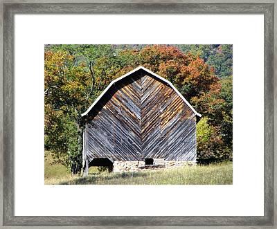 Unique Barn Framed Print by Christine Bradley