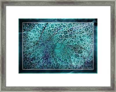 Framed Print featuring the photograph Unique Bubbles by Michaela Preston
