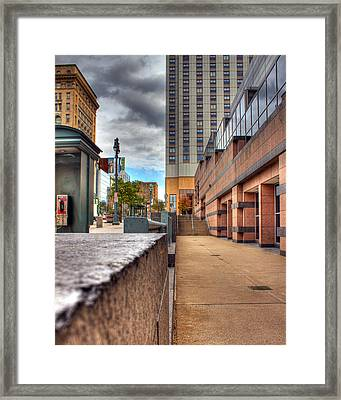 Unique City View Framed Print by Tim Buisman