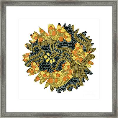 Unique Flower Framed Print