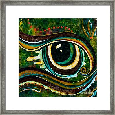 Unique Spirit Eye Framed Print by Deborha Kerr