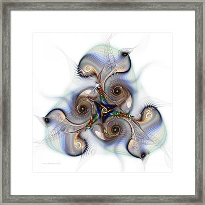 Unison Fractal Art Framed Print