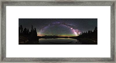 Unitas Milky Way Framed Print by Andrew Fritz