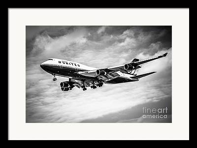 Boeing 747 Photographs Framed Prints