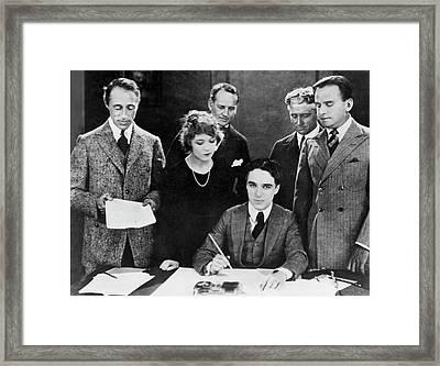 United Artists, 1919 Framed Print by Granger
