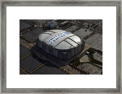 United Center Chicago Sports 09 Framed Print