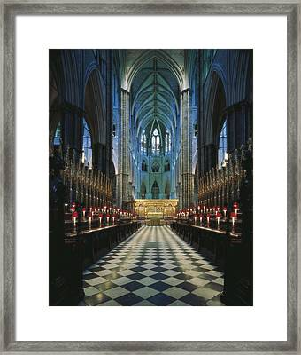 United Kingdom. England. Greater Framed Print