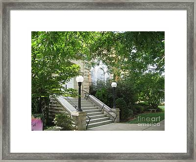 United Methodist Church  Framed Print