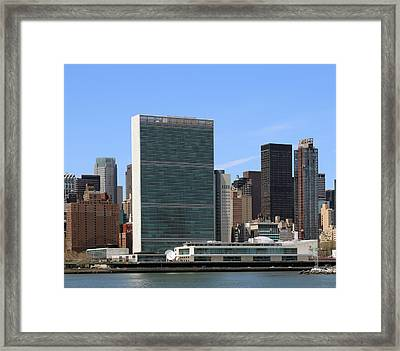United Nations  Framed Print
