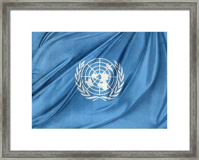 United Nations Framed Print by Les Cunliffe