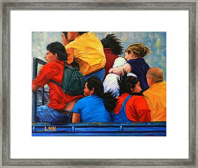 United, Peru Impression Framed Print