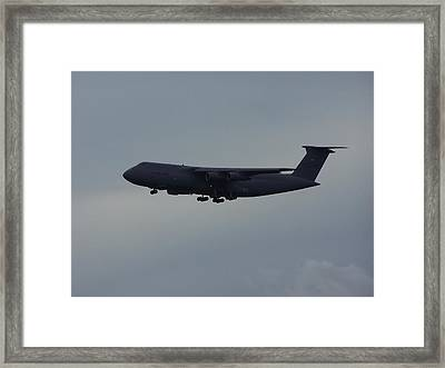 Framed Print featuring the photograph United State Air Force by Michele Kaiser