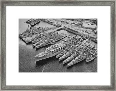 United States 7th Fleet Framed Print