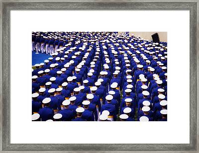 United States Air Force Academy Graduation 2013 Framed Print by Mountain Dreams