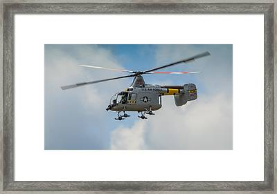 United States Air Force Hh-43 Huskie Framed Print by Puget  Exposure