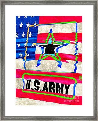 United States Army Framed Print