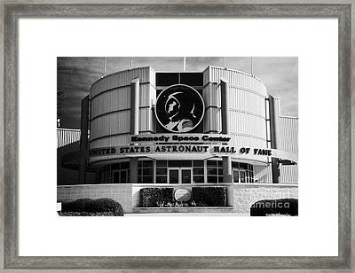 united states astronaut hall of fame Kennedy Space Center Florida USA Framed Print by Joe Fox