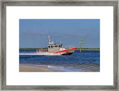 United States Coast Guard Framed Print
