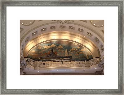 United States Naval Academy In Annapolis Md - 121216 Framed Print