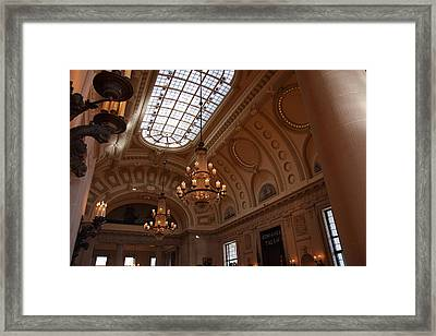 United States Naval Academy In Annapolis Md - 121218 Framed Print