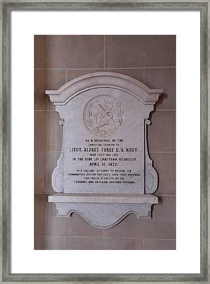 United States Naval Academy In Annapolis Md - 121221 Framed Print by DC Photographer