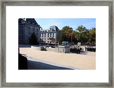 United States Naval Academy In Annapolis Md - 121227 Framed Print by DC Photographer