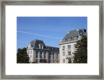 United States Naval Academy In Annapolis Md - 121229 Framed Print
