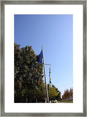 United States Naval Academy In Annapolis Md - 12123 Framed Print by DC Photographer