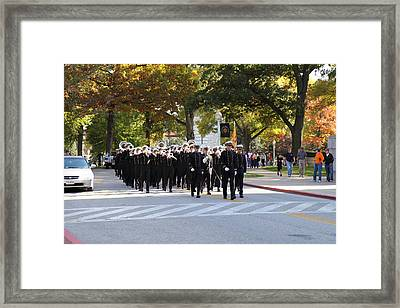 United States Naval Academy In Annapolis Md - 121242 Framed Print by DC Photographer