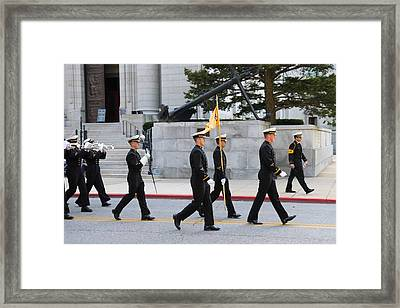 United States Naval Academy In Annapolis Md - 121244 Framed Print by DC Photographer