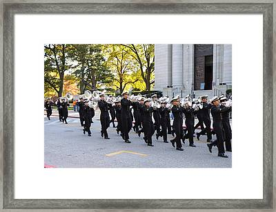 United States Naval Academy In Annapolis Md - 121245 Framed Print by DC Photographer