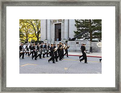 United States Naval Academy In Annapolis Md - 121248 Framed Print by DC Photographer