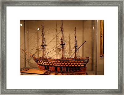 United States Naval Academy In Annapolis Md - 121267 Framed Print