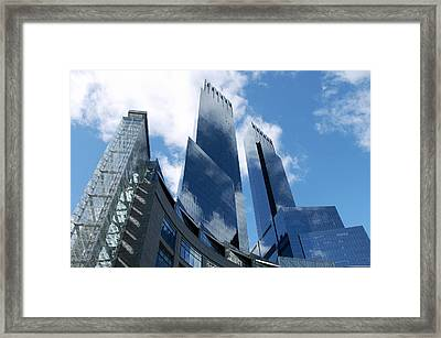 United States, New York, Skyscrapers Framed Print by Tips Images