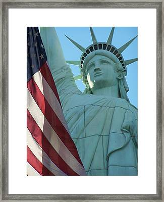 United States Of America Framed Print