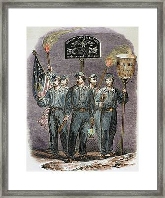 United States Party Supporters Of John Framed Print