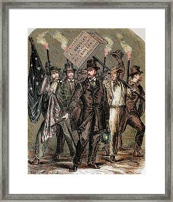 United States Supporters Of Stephen Framed Print