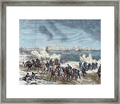 United States The American Civil War Framed Print by Prisma Archivo