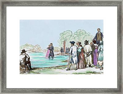 United States Virginia Anabaptist Framed Print